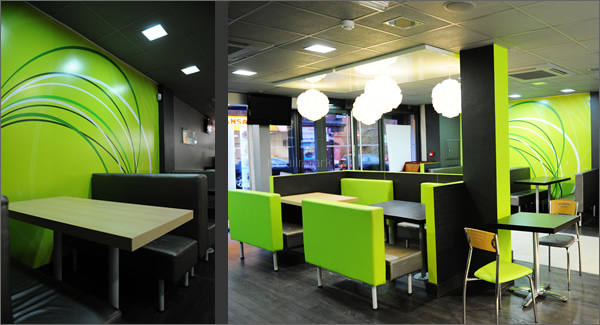 Retail Mark Chicken Cottage Interior Design Retail