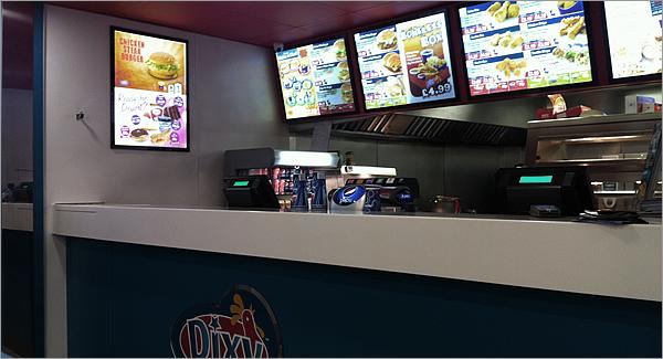 Retail Mark Dixy Chicken Liverpool Interior Design