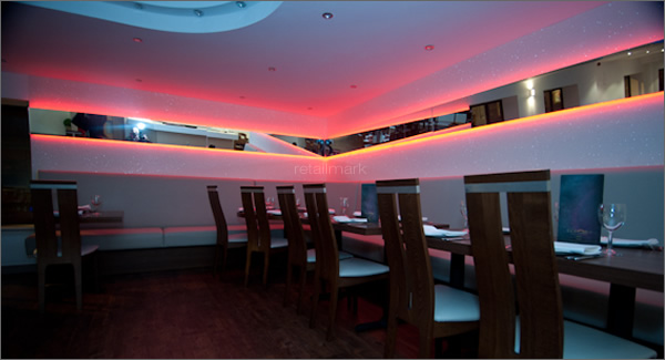 Retail Mark Imli Indian Restaurant Interior Design