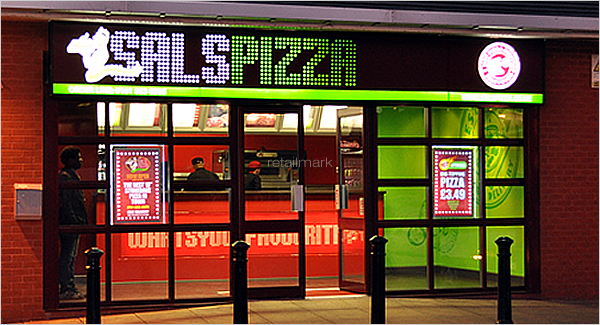 ... Interior Design And Marketing Material For The Pizza And Chicken  Franchise. We Introduced A Striking Brand Image, Vibrant Colour Scheme And  Simple Fit ...